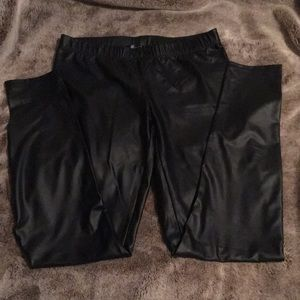 Midnight Hour Faux Leather Leggings